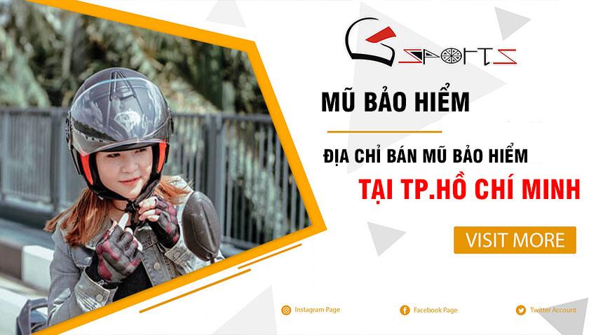 Mũ bảo hiểm Hồ Chí Minh Uy Tín - Chính Hãng